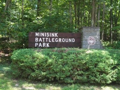 Minisink Battleground Park image. Click for full size.