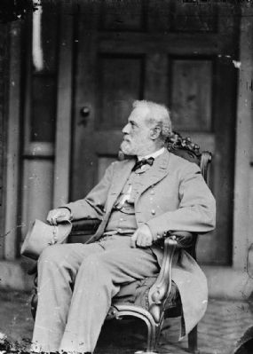Gen. Robert E. Lee, C.S.A. image. Click for full size.