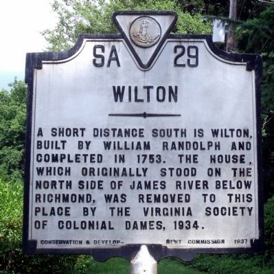 Wilton Marker Photo, Click for full size
