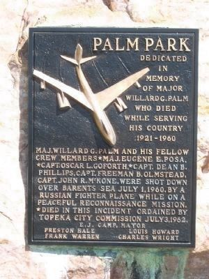 Palm Park Marker image. Click for full size.