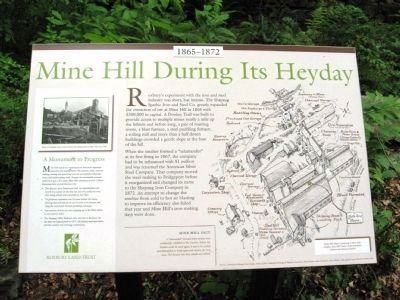 Mine Hill During Its Heyday image. Click for full size.