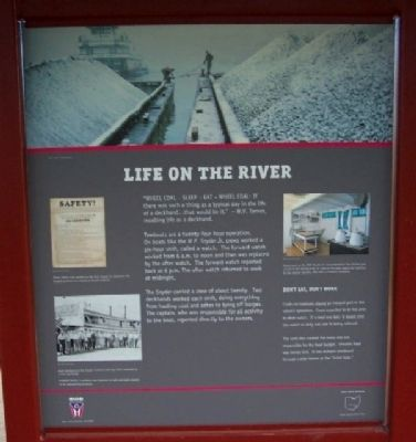 Life on the River Marker image. Click for full size.