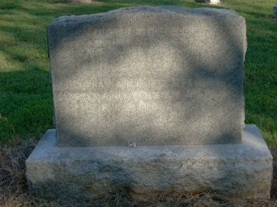 George Dietzler Headstone image. Click for full size.