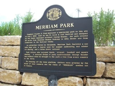 Merriam Park Marker image. Click for full size.