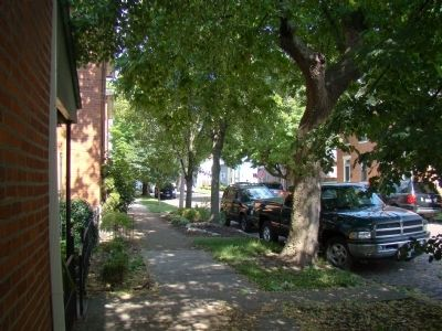 A Shady Sidewalk in German Village Photo, Click for full size