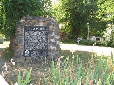 The Avery Hotel Marker image. Click for full size.