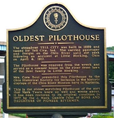 Oldest Pilothouse Marker image. Click for full size.