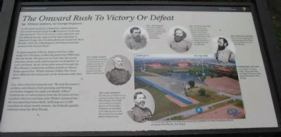 The Onward Rush to Victory or Defeat Marker image. Click for full size.