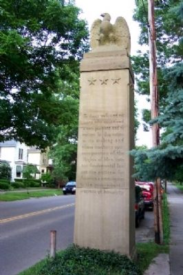 Northwest Ordinance Sesquicentennial Column image. Click for full size.