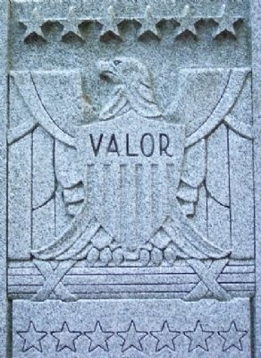 Washington County Veterans Memorial - Valor image. Click for full size.