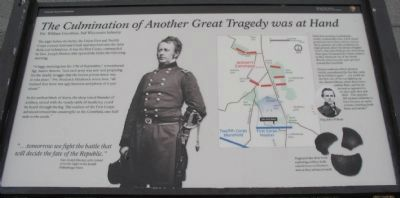 The Culmination of Another Great Tragedy was at Hand Marker image. Click for full size.