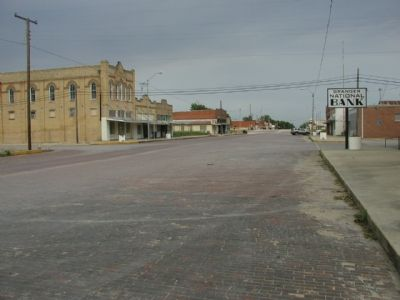 Brick Streets in Granger image. Click for full size.