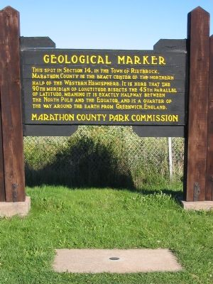 Geological Marker Photo, Click for full size