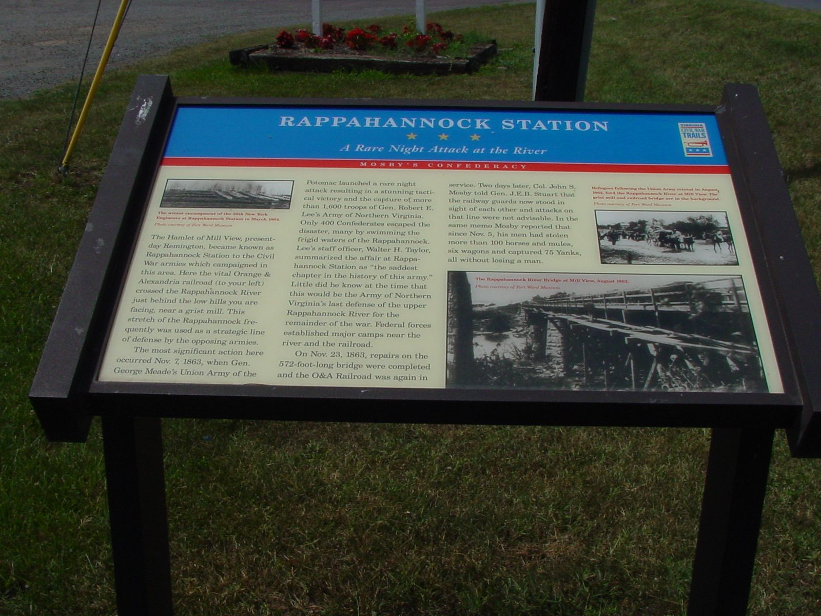 Rappahannock Station Marker