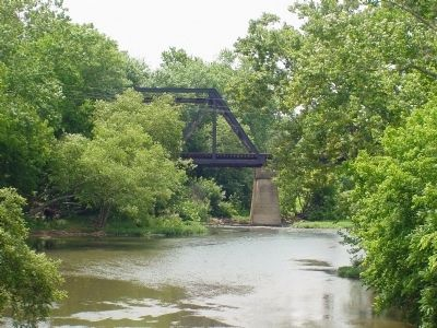 Present-Day Railroad Bridge Over the Rappahannock image. Click for full size.
