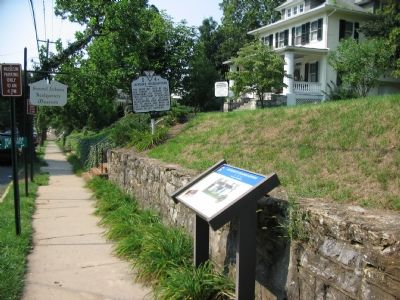 The Civil War Trails Marker and Virginia State Marker in Front of Museum image. Click for full size.