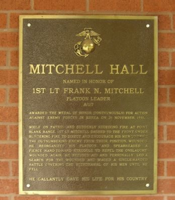 Mitchell Hall Marker image. Click for full size.