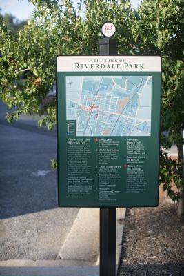 The Town of Riverdale Park Marker image. Click for full size.