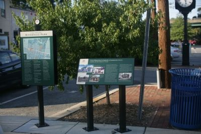 The two Riverdale markers together image. Click for full size.