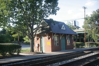 Riverdale MARC station image. Click for full size.