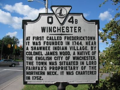 Winchester (East Facing Side) image. Click for full size.