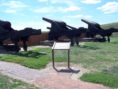 Post Civil War cannons. image. Click for full size.