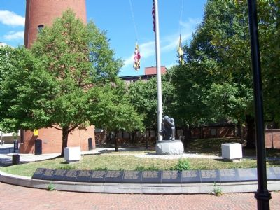 Baltimore Police Memorial image. Click for full size.