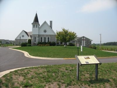 Opequon Presbyterian Church image. Click for full size.