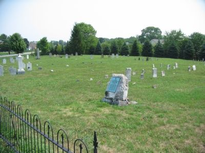 Opequon Church Cemetery image. Click for full size.