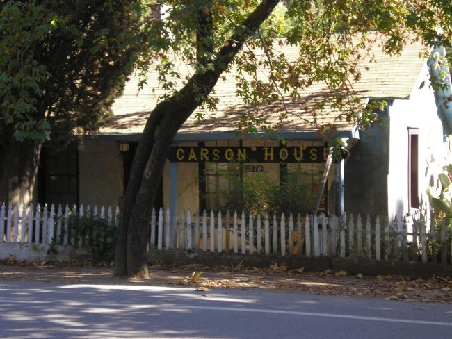Carson House - New Almaden Photo, Click for full size