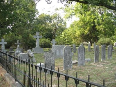 St. Luke's Church Cemetery Photo, Click for full size
