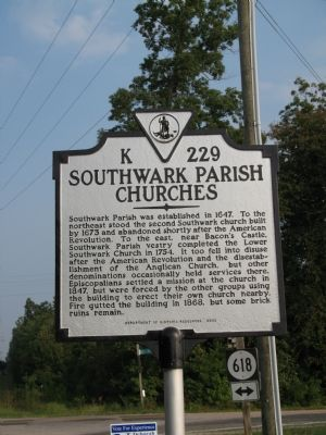 Southwark Parish Churches Marker Photo, Click for full size