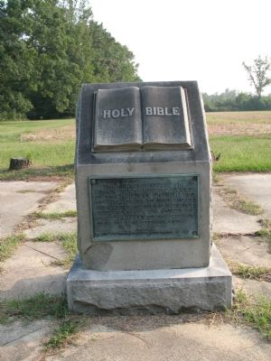 Holy Bible Monument image. Click for full size.
