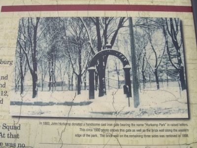 Hurkamp Park Gate image. Click for full size.