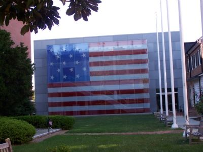 Flag House Museum image. Click for full size.