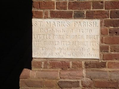 St. Mark's Parish Cornerstone Photo, Click for full size