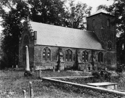 St. Luke�s Church - Historical Photo Photo, Click for full size