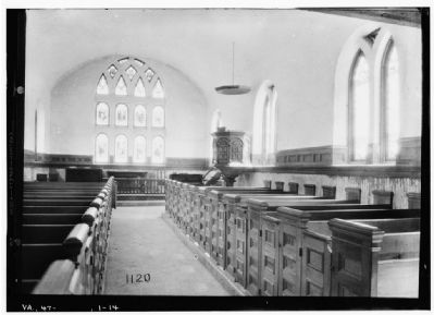 Interior of St. Luke�s Church, c. 1930s Photo, Click for full size