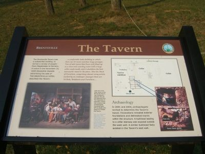 Brentsville – The Tavern Marker image. Click for full size.