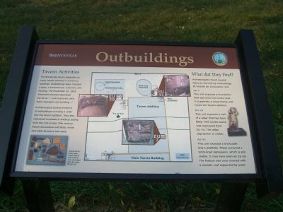 Brentsville – Outbuildings Marker image. Click for full size.