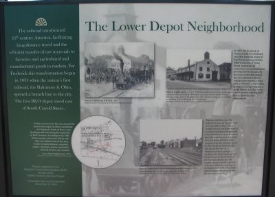 North Facing Side of Marker image. Click for full size.