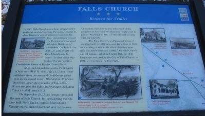 Falls Church Marker image. Click for full size.
