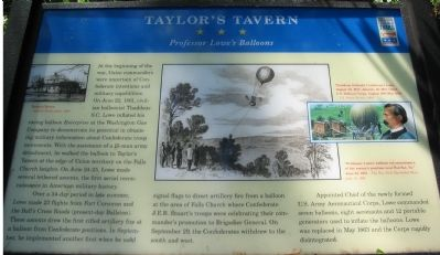 Taylor's Tavern Marker image. Click for full size.