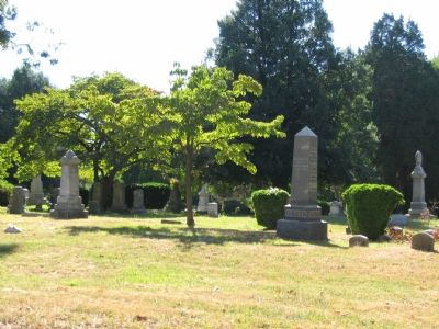 Old Chapel Cemetery image. Click for full size.