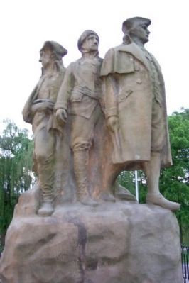 Start Westward Memorial (front) image. Click for full size.
