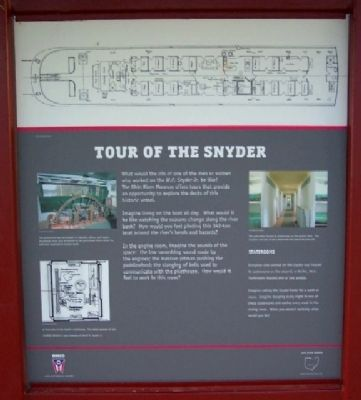 Tour of the Snyder Marker image. Click for full size.