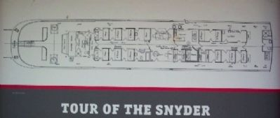 Snyder Line Drawing on Marker image. Click for full size.