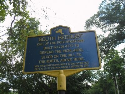 South Redoubt Marker image. Click for full size.