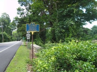 Marker on Cat Rock Road image. Click for full size.