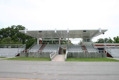 Peatross Parade Deck Reviewing Stand - center Photo, Click for full size